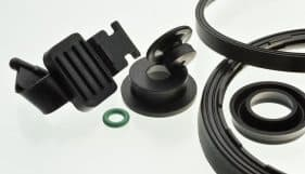 A number of custom and standard sealing rings and solutions