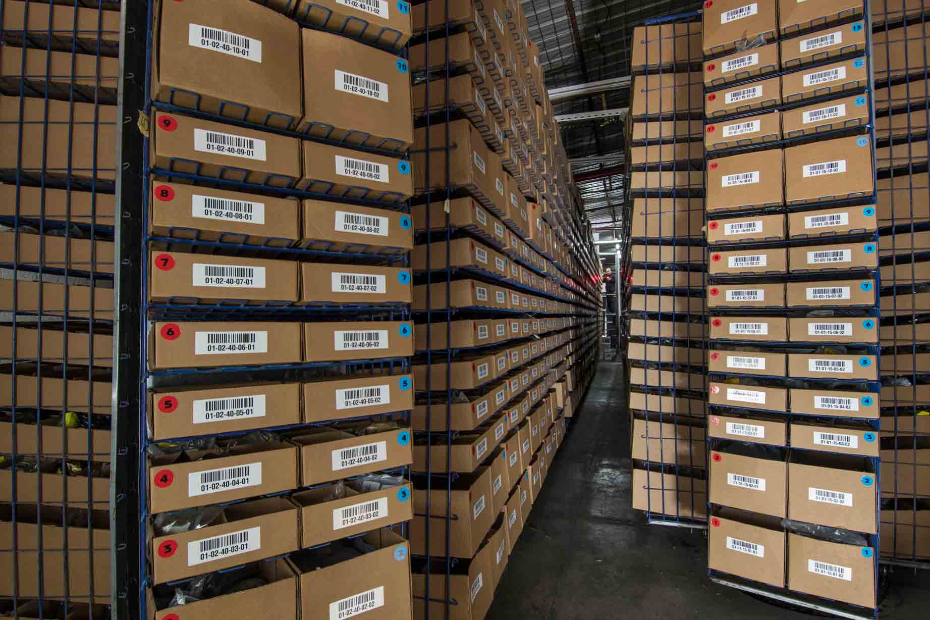 warehouse storage ISO2230