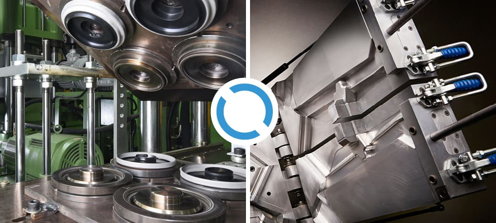 Compression vs injection molding